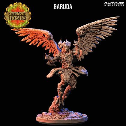 Garuda from Clay Cyanide Miniatures