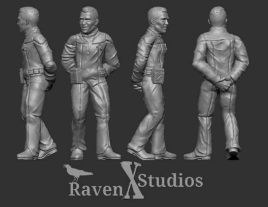 medical Human Crewman from RavenX Studios