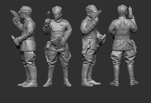 Clone Officers with Macrobinoculars from RavenX Studios