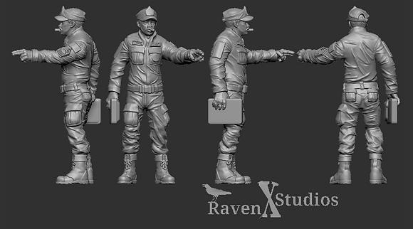 Gunnery Sergeant Apone from RavenX Studios