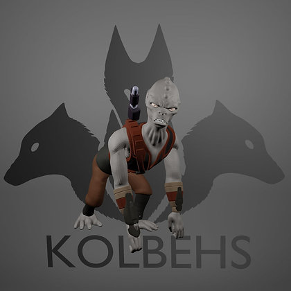 Ape Assasin From Kolbehs Painting and Design