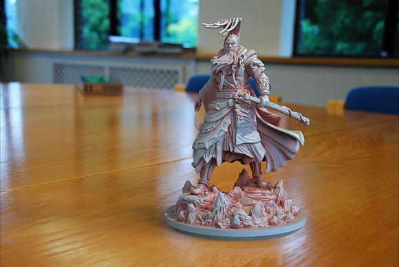 Jade Emperor from clay cyanide