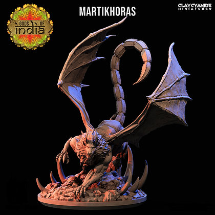 Martikhoras from Clay Cyanide Miniatures
