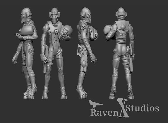 copy of Tau Air Caste Pilot Version 2 from RavenX Studios