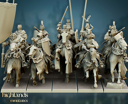 GRAIL KNIGHTS from Highlands Miniatures