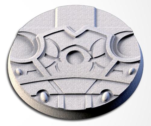 63mm base Magic Temples design
