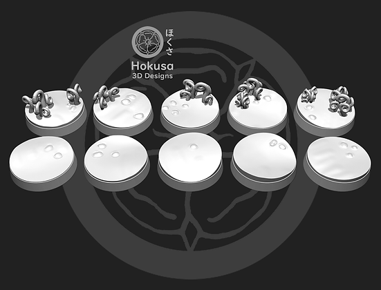 Shadow world bases 10 pack From Hokusa studios