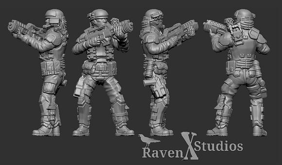 Aliens Colonial Marine version 1 From RavenX Studios