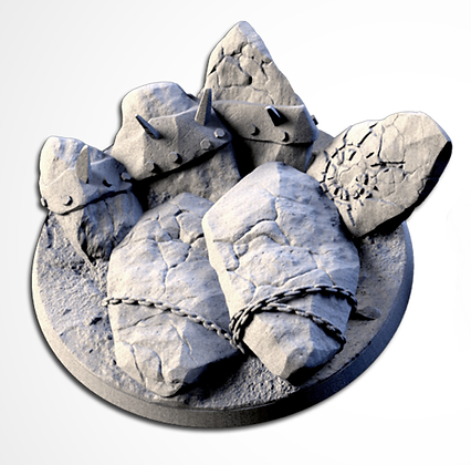 80mm base Chaos Hell design
