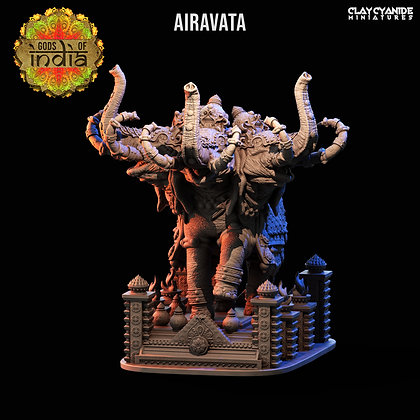 Airavata from Clay Cyanide Miniatures