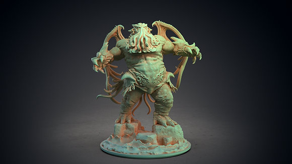 Cthulhu by clay cyanide miniatures