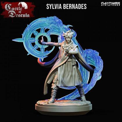 Sylvia Bernades from clay cyanide
