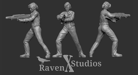 Bajoran Crewwoman from RavenX Studios