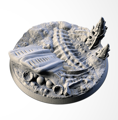 63mm base Alien design