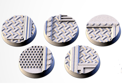 25 mm Bases 5 pack Factory design