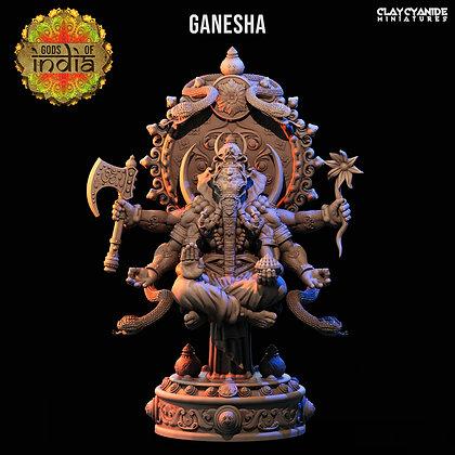 Ganesha from Clay Cyanide miniatures