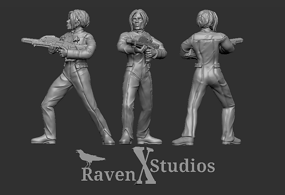 Orion Crewwoman from RavenX Studios