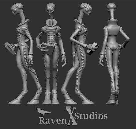 Kaminos scientist variant 1 From RavenX Studios