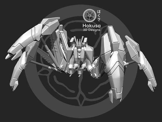 Crustacean Droid  From Hokusa studios