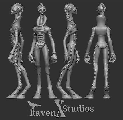 Kaminos scientist variant 3 From RavenX Studios