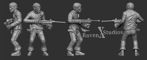Vulcan Crewman from RavenX Studios