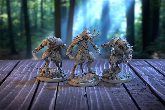 Vukodlak Fighters from clay cyanide