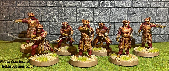 Eastern warriors By Kolbeths painting and design