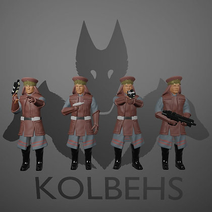Royal Guard Squad From Kolbehs Painting and Design