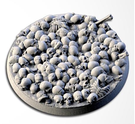 63mm base Death Skulls design