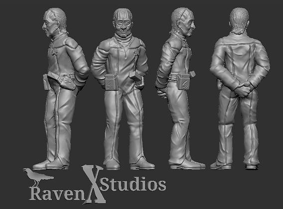 Cardassian Crewman from RavenX Studios