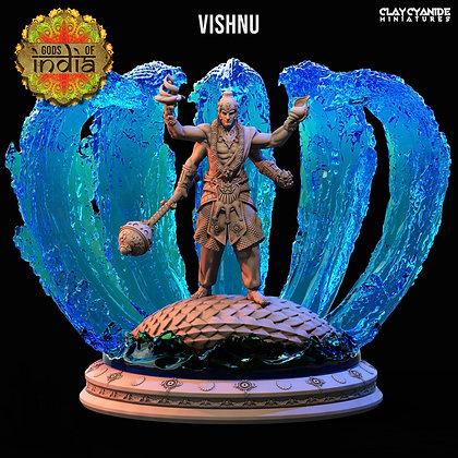 Vishnu from clay cyanide