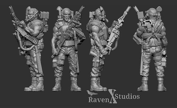 Smart Gunners from RavenX Studios