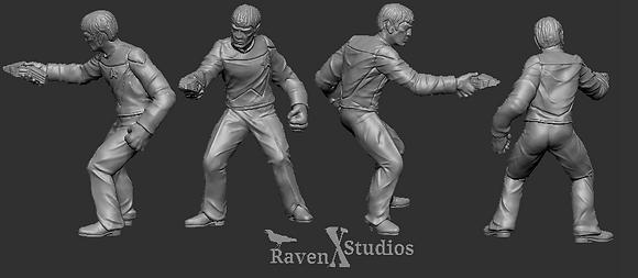 Next Generation Vulcan crewman from RavenX Studios