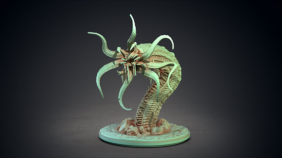Chthonian by clay cyanide miniatures