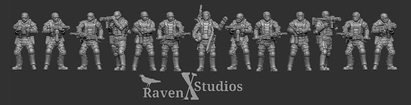 Colonial Marines Heavy Weapons Bundle From RavenX Studios