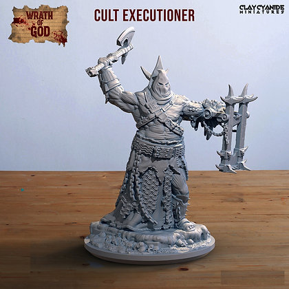 Cult Executioner from clay cyanide