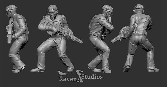 Borg crewman from RavenX Studios
