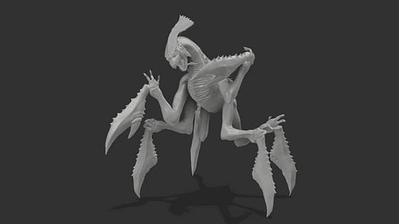 Space crab from hokusa
