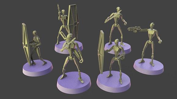 Commando robots from warblade studio