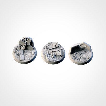 40mm bases 3 pack Graveyard design