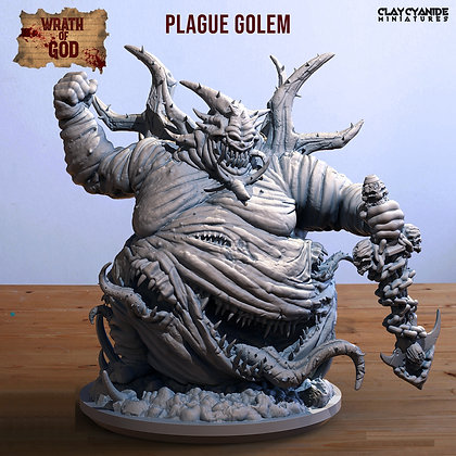 Plague Golem from clay cyanide