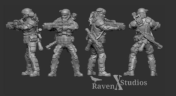 Aliens Colonial Marine version 2 From RavenX Studios