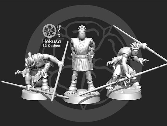Treacherous General From Hokusa studios