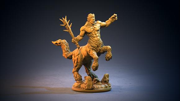 One-Eyed Centaur By Clay Cyanide