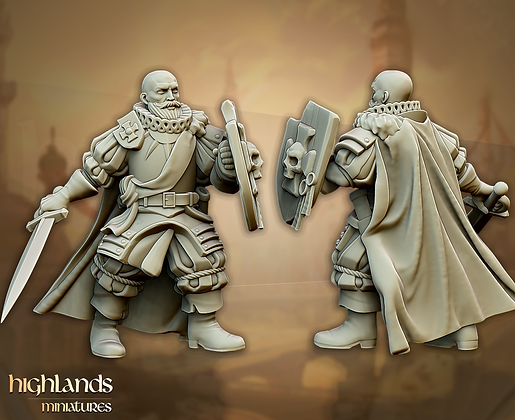 Sunland Imperial Captain from Highlands Miniatures