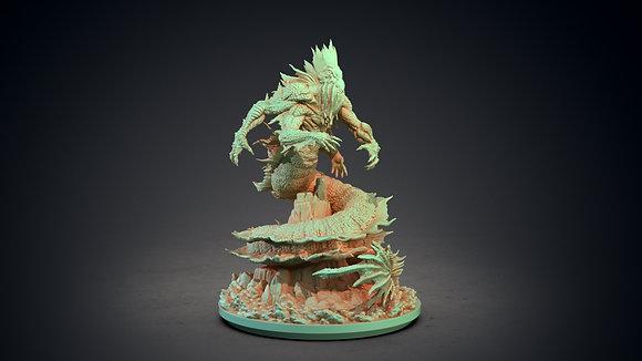 Dagon by clay cyanide miniatures