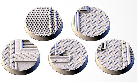 32mm bases 5 pack Factory design
