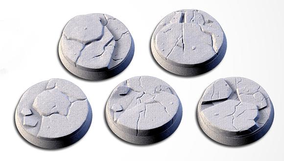 32mm bases 5 pack Frozen design
