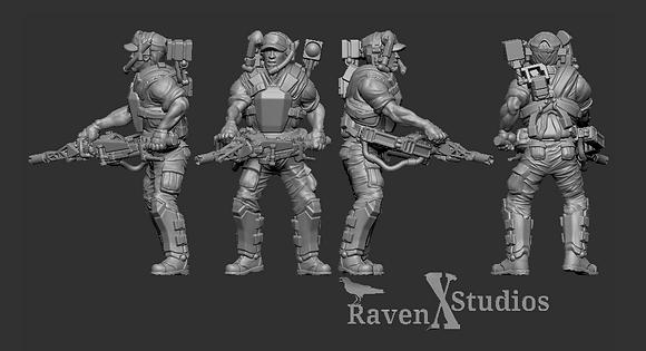 Smart Gunner from RavenX Studios