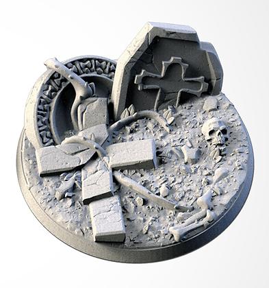 63mm base Graveyard design